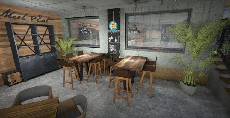 Meet&Eat render_Scene 4