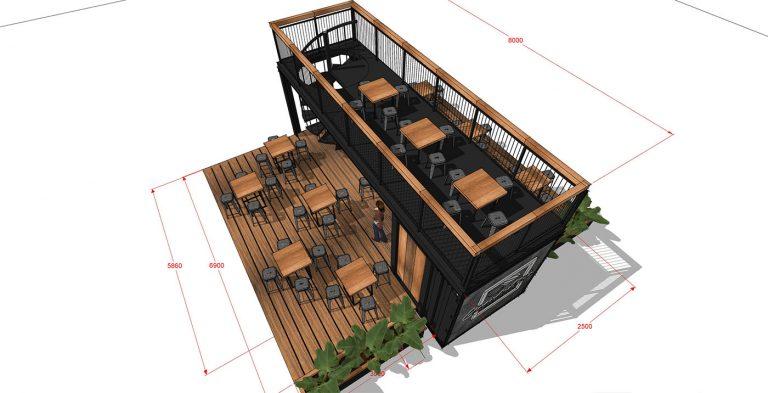 OC Central letná kaviareň 07