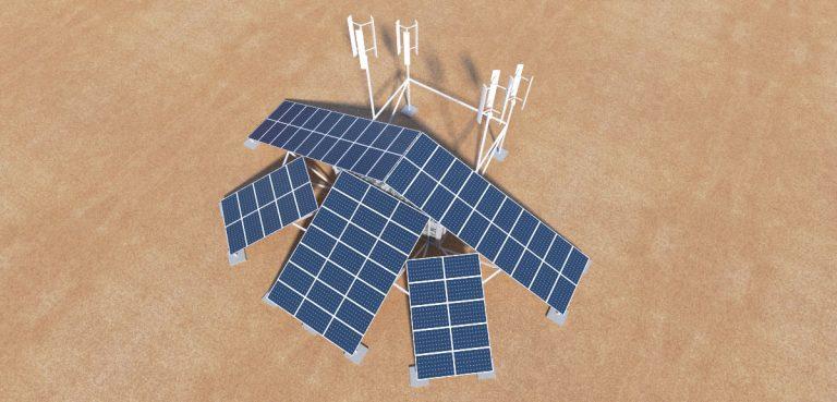 GS Solárny kontajner VIZ 003